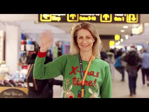 Christmas Sweaters at Tallinn Airport 2018