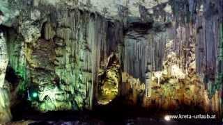 Die Melidoni - Höhle auf Kreta, Griechenland
