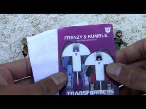 Transformers Music Label Frenzy & Rumble (Takara-Tomy).