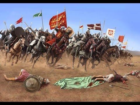 Third Crusade to the Holy Land - Saladin vs. Richard