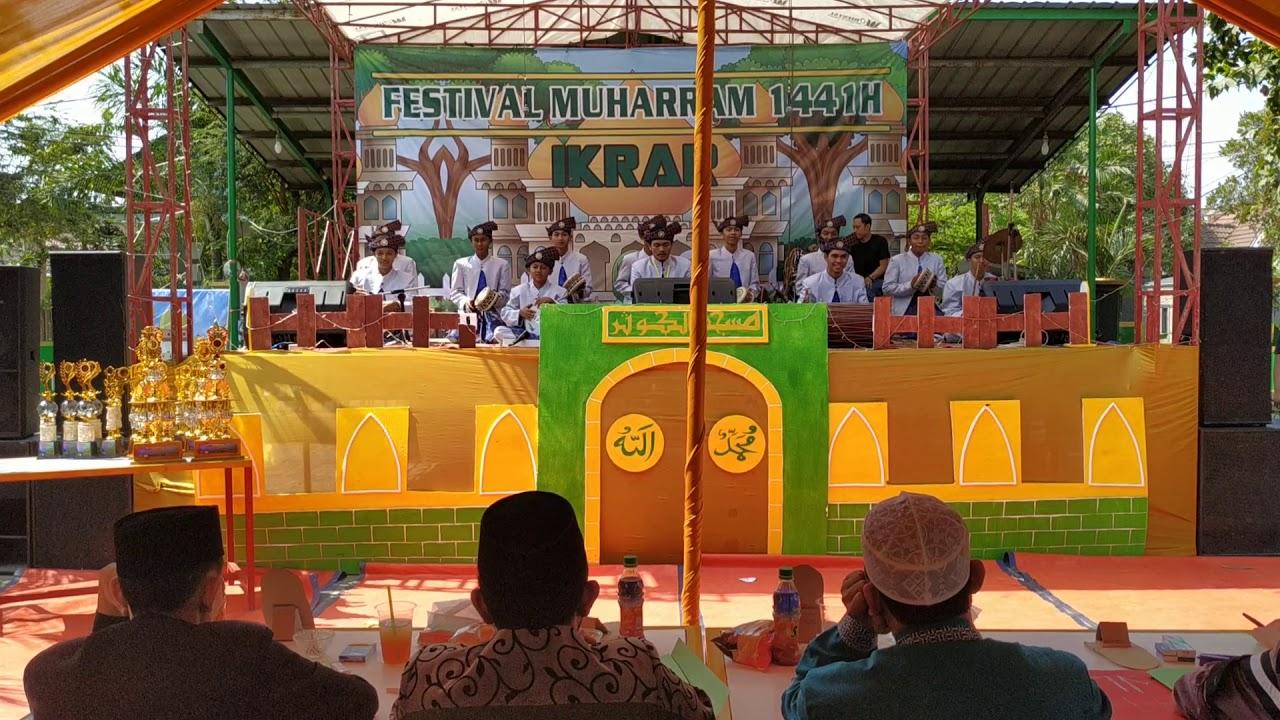 Marawis El Farah Tambun  Festival Muharam Grama puri cibitung faet Mahmud zeen