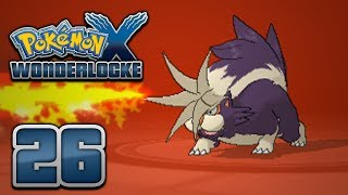 Pokémon X Wonderlocke - Episode 26 | Crashing Around