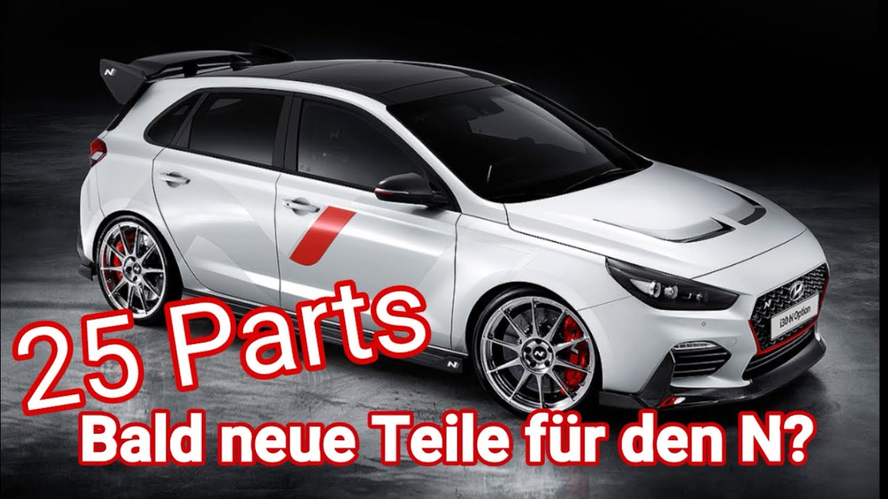 hyundai i30n performance n option neue anbauteile. Black Bedroom Furniture Sets. Home Design Ideas