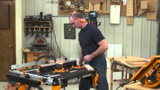 Making Picture Frames Without Using Miters