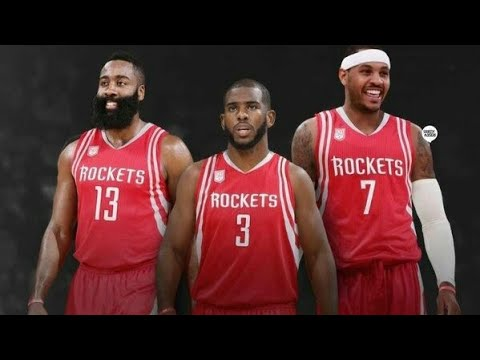 Camelo Joins Chris Paul and James Harden!!