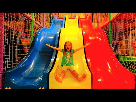 Thumbnail: Indoor Playground Family Fun Play Area for kids / Baby Nursery Rhymes Song
