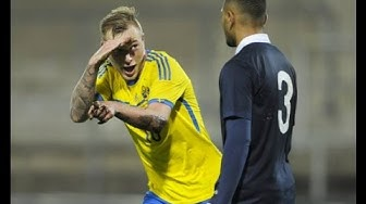 Sverige-Frankrike (4-1) U21 EM-kval Playoff 2014 (Radiosportens kommentatorer)