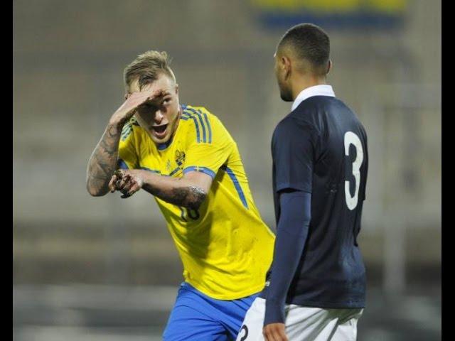Sverige Frankrike 4 1 U21 Em Kval Playoff 2014 Radiosportens Kommentatorer Youtube