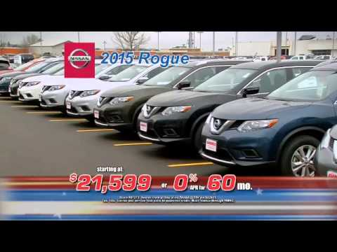 Rogues At The Gandrud Nissan Memorial Day Sales Event. Gandrud Green Bay