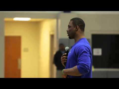 Justin Tuck Visits Coosa County Middle School