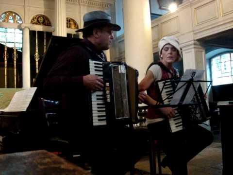 VOLVER TANGO ARGENTINO - Accordéon Mélancolique (live in London)