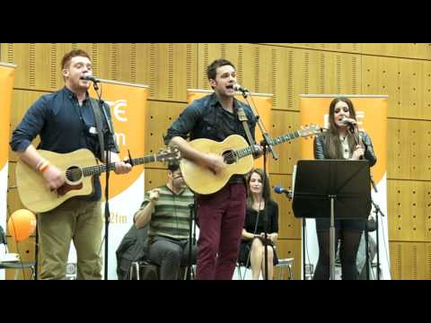 Exclusive! Team Bressie perform on 2FM for Ryan Tubridy
