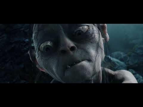 Голлум нападает на Фродо и Сэма. HD