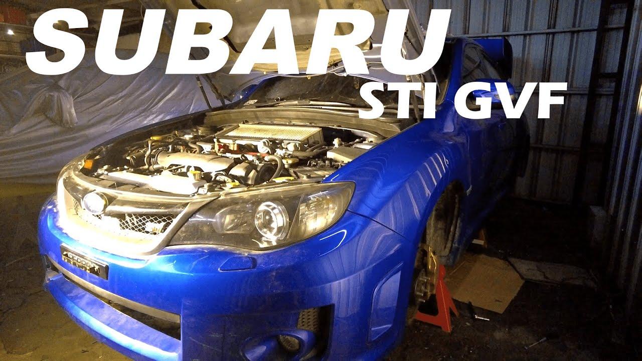 FIRST START SUBARU WRX STI GVF