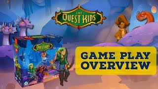 The Quest Kids Board Game - Game Play Overview