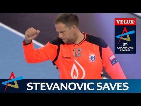 Zagreb's Stevanovic stops Vardar in their tracks | Round 5 | VELUX EHF Champions League