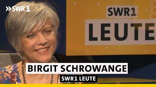 Birgit Schrowange, Moderatorin | erzählt Persönliches selbstironisch und humorvoll | SWR1 Leute
