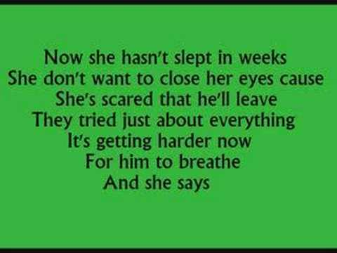 daddy's little girl with lyrics