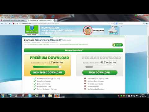 Tutorial on bypassing the retarded download limit on many file sharing websites using Hotspot Shield