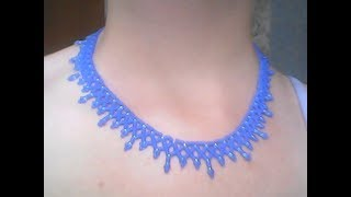 (2)Простое ожерелье из бисера. Лиза Иванова