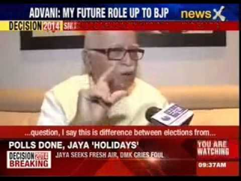 LK Advani's explosive interview on role under Narendra Modi