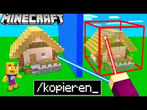 Ich KOPIERE das BAUWERK von meinem FREUND in Minecraft!