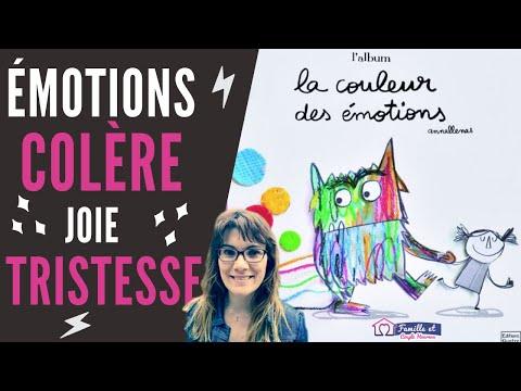 LA COULEUR DES ÉMOTIONS de Anna LLENAS.(LECTURE) Un livre sur les émotions pour enfant (PARENTALITÉ)