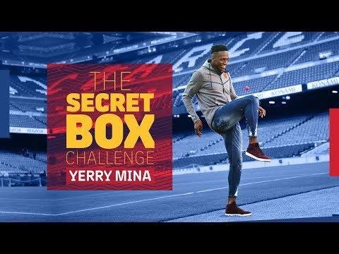 THE SECRET BOX CHALLENGE | Yerry Mina