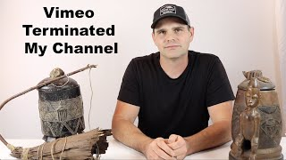 Vimeo Terminated My Account - Youtube Channel Update & How My Family Is Doing. Mousetrap Monday.