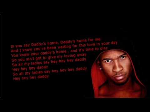 Usher Ft Plies - Hey Daddy (daddy's Home) [LYRICS]