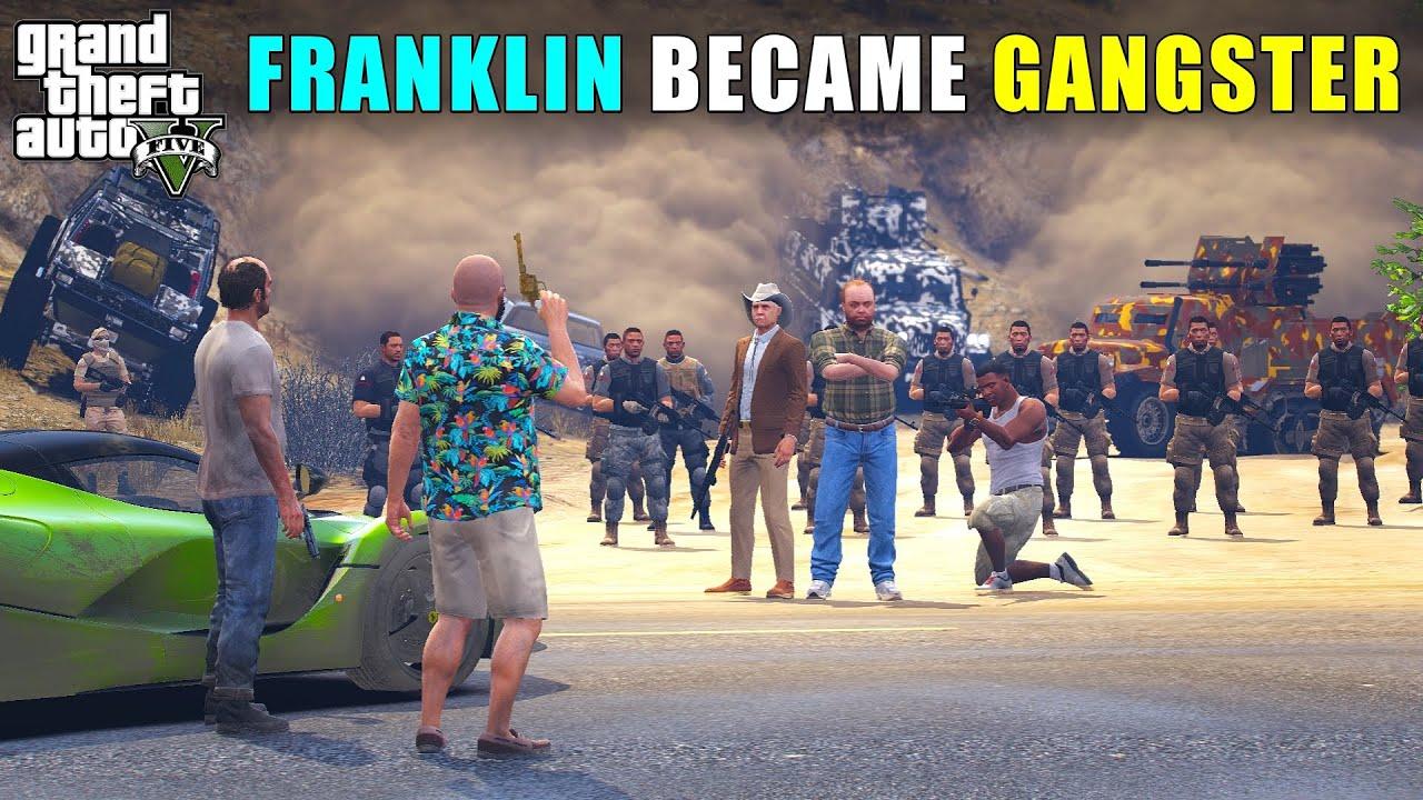FRANKLIN WORK WITH BIGGEST GANG   Techno Gamerz   GTA 5 134   GTA V GAMEPLAY #134