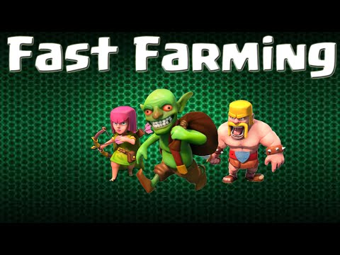 "Clash of Clans | Farming With the ""Bag"" Strategy"