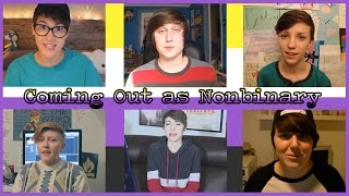 YOUTUBERS COME OUT AS NONBINARY | ChandlerNWilson