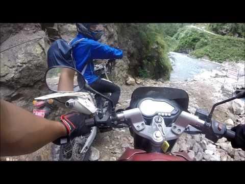 bikes journey to MANANG.(ktm to manang)