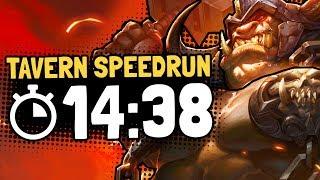 Blackrock Crash SPEEDRUN RECORD ATTEMPT #1 ⏱️14:38 | Hearthstone