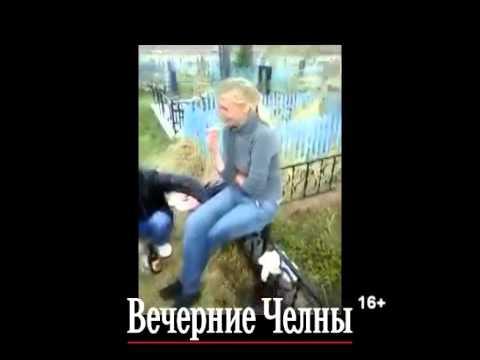 В Челнах сгорели 15 могил на кладбище «Молодежное» (ВИДЕО)