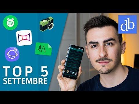 TOP 5 Migliori APP Android | Settembre 2017 | Le migliori per Android! • Ridble