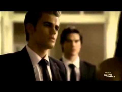 The Vampire Diaries - Seconda Stagione - Stefan Damon e Katherine la sera del ballo in maschera.wmv