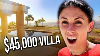 $45,000 LUXURY CABO VILLA TOUR!!
