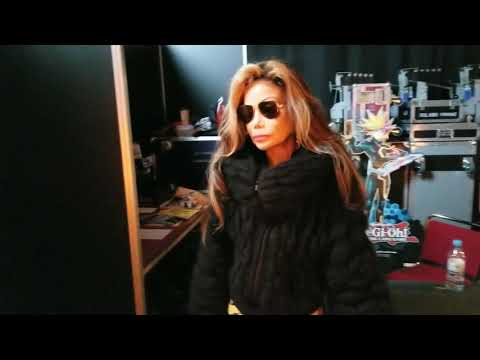 La Toya Jackson - Backstage Comic Con Dortmund Germany 2018