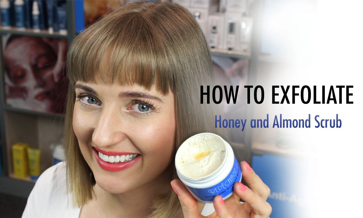 How To Exfoliate Naturally  The Best Natural Face Scrub  Rep�chage Honey  And Almond Scrub