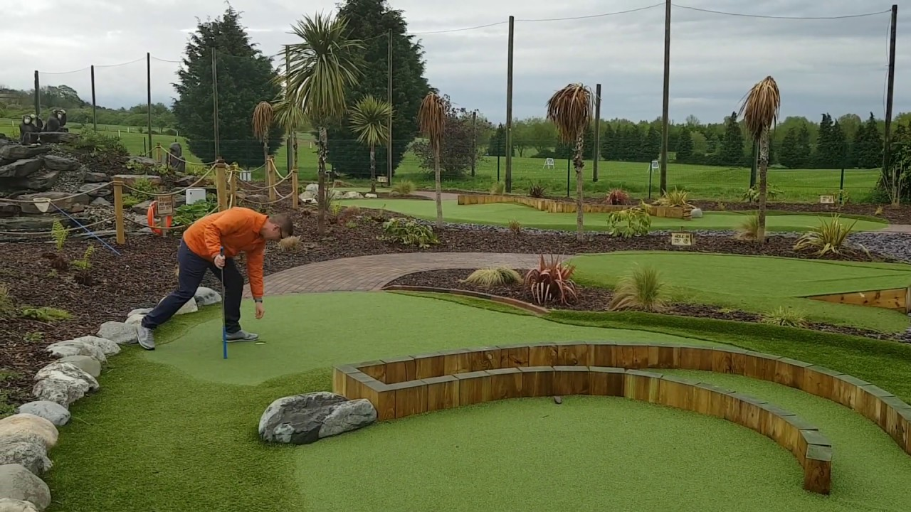 Jungle Safari Adventure Golf In Worcester 2 Of 2 Hole In One Youtube