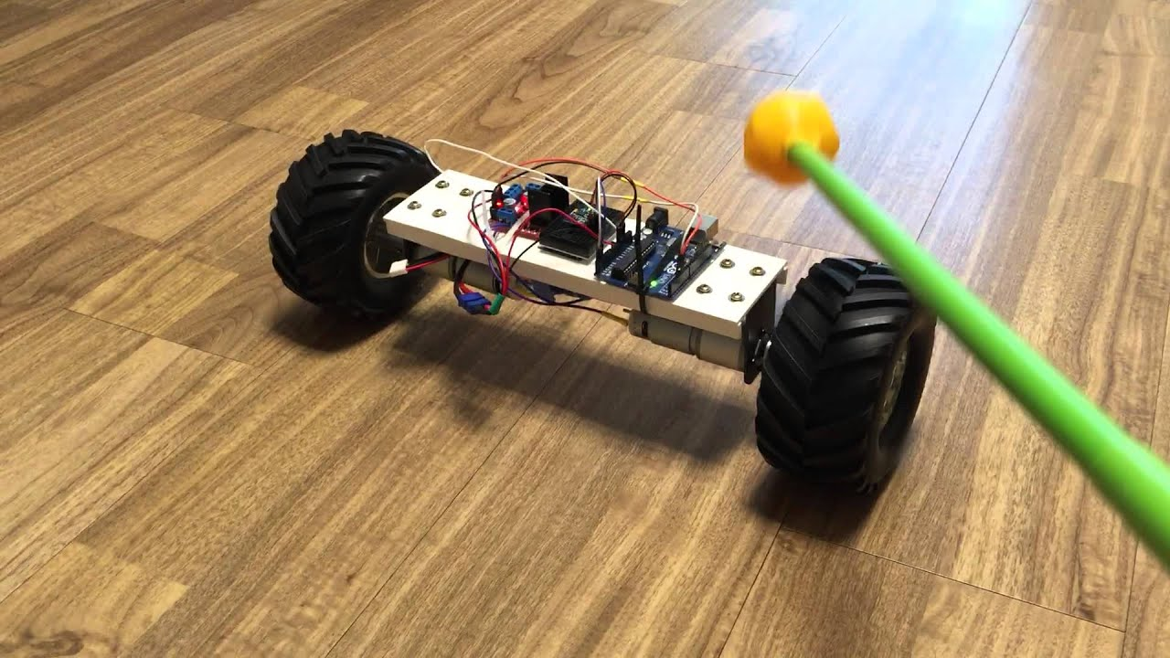 Lucy self balancing robot doovi