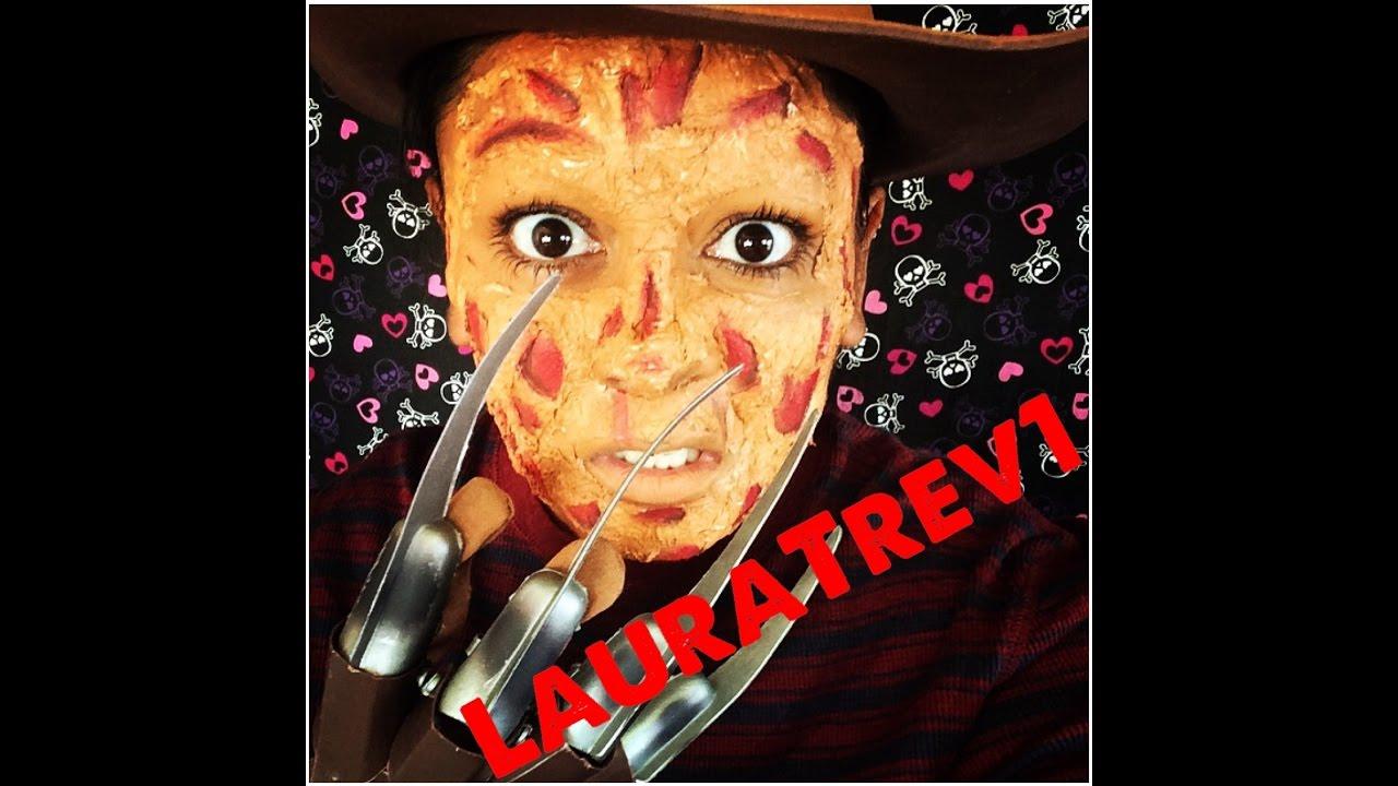 Tutorial de Halloween: Maquillaje de Freddy Krueger - YouTube