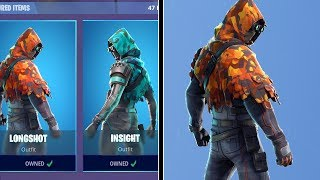 *NEW* LONGSHOT & INSIGHT SKINS (Fortnite Item Shop 15th December)