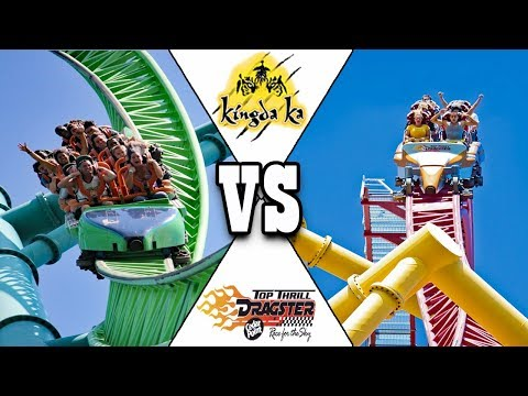 Top Thrill Dragster vs. Kingda Ka Coaster Battle! Which One Is Better?