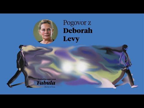 Festival Fabula 2021 - Pogovor z Deborah Levy