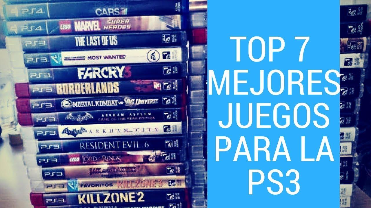 Top 7 Mejores Juegos Para Ps3 2018 Youtube