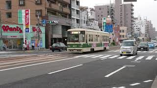 広島電鉄800形807号 舟入本町〜舟入幸町