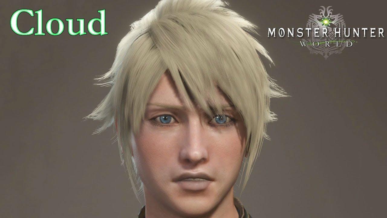 monster hunter world how to change hair